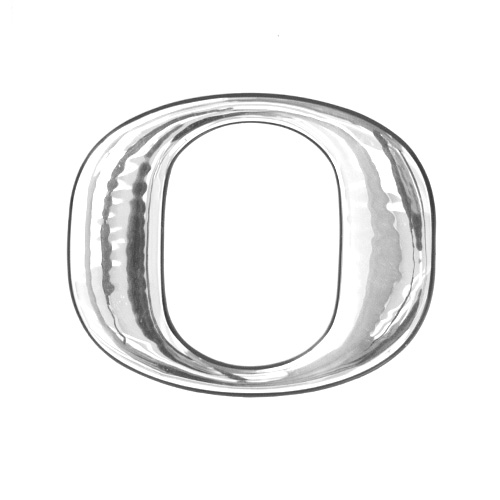 Chrome O Logo Letter 3